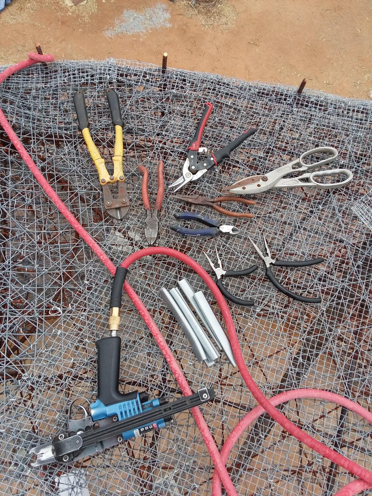 Tools on Roof